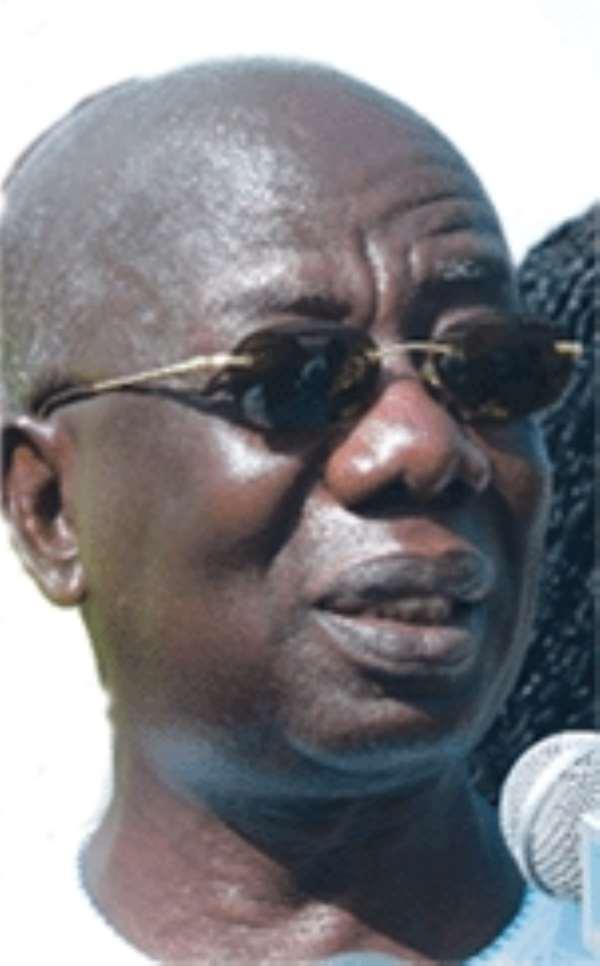 The former Chief of Staff, Mr. Kwadwo Mpiani